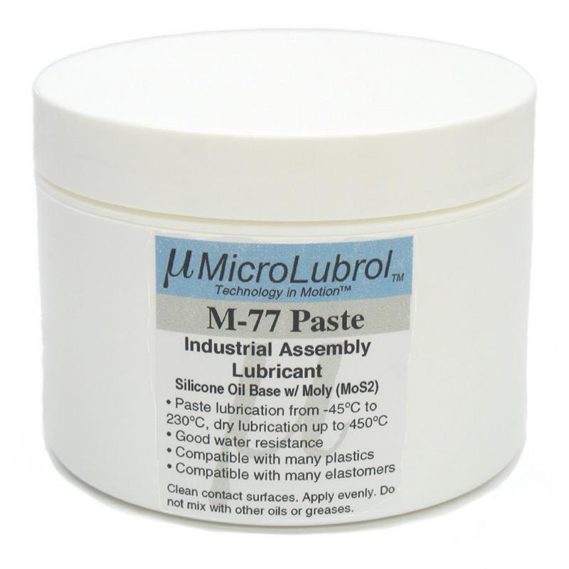 Microlubrol M 77 Lubricant Paste Grease Silicone Molybdenum 16 Oz 450g 1lb